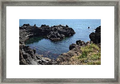Cuore Naturale Framed Print by Kathleen Pio