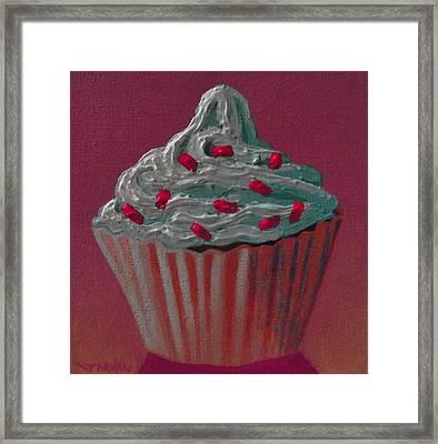 Cupcake Delight Framed Print by John  Nolan