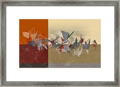 Custer's Last Stand Framed Print by Dan Turner