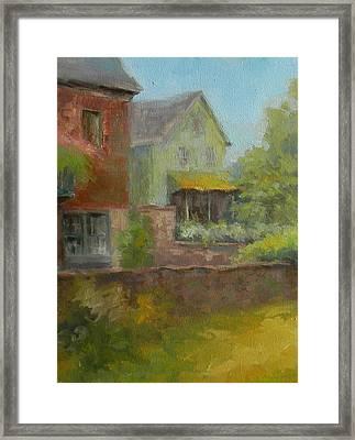 Cuttalossa Farm House Framed Print by Kit Dalton