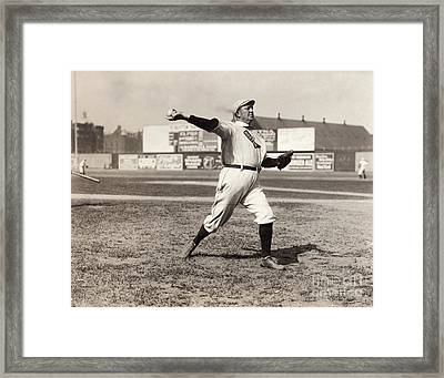 Cy Young (1867-1955) Framed Print by Granger