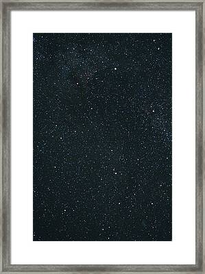 Cygnus Constellation Framed Print by John Sanford