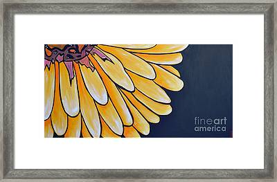 Dahlia Framed Print by Holly Donohoe