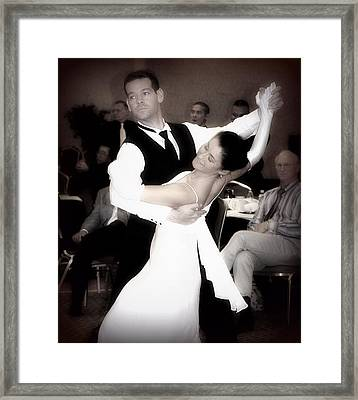 Dance With Me Framed Print by Lori Seaman
