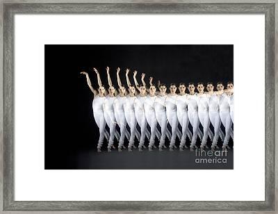 Dancer Framed Print by Ted Kinsman