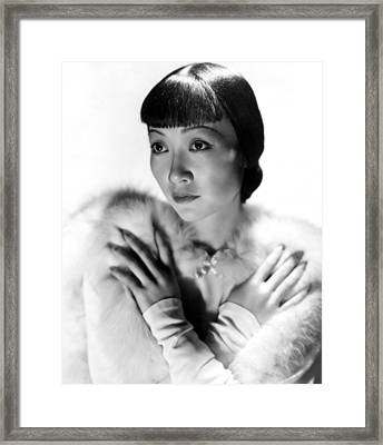 Dangerous To Know, Anna May Wong, 1938 Framed Print by Everett