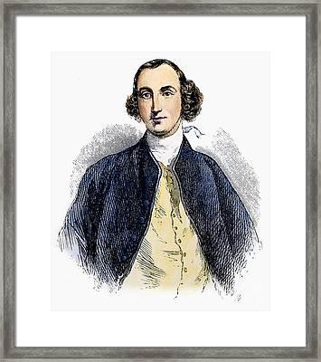 Daniel Parke Custis Framed Print by Granger