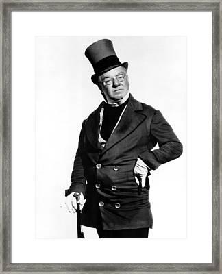 David Copperfield, W.c. Fields, 1935 Framed Print by Everett