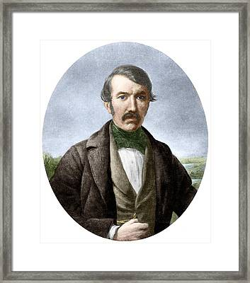 David Livingstone, Scottish Explorer Framed Print by Sheila Terry