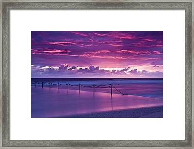 Dawn Fire Framed Print by I Take Thee Photography