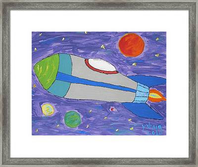 Day Dreamer Framed Print by Yshua The Painter