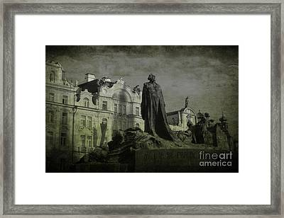 Death In Prague Framed Print by Lee Dos Santos