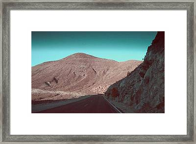 Death Valley Road 2 Framed Print by Naxart Studio