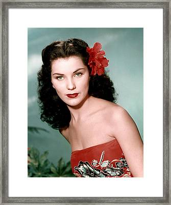 Debra Paget, Ca. 1950s Framed Print by Everett