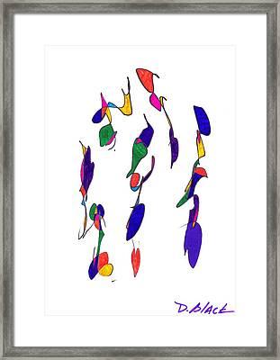 Definism Design 2 Framed Print by Darrell Black