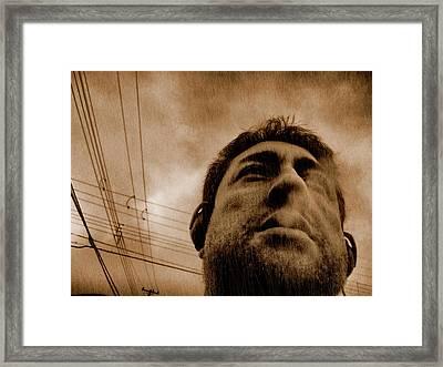 Delirium Framed Print by Beto Machado