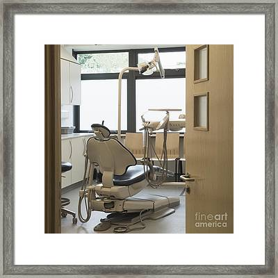 Dentist Chair Framed Print