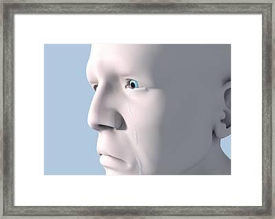 Depression, Artwork Framed Print