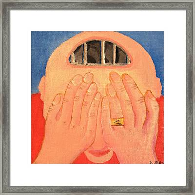 Depression Framed Print by Darren Stein