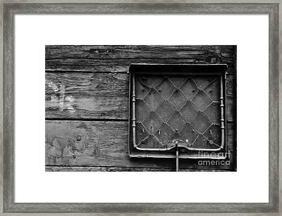 Destination Box Framed Print by Dariusz Gudowicz