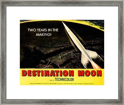 Destination Moon, 1950 Framed Print by Everett