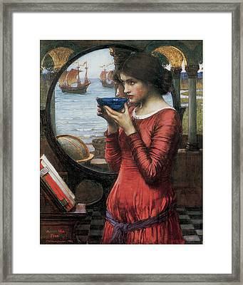 Destiny Framed Print by John William Waterhouse