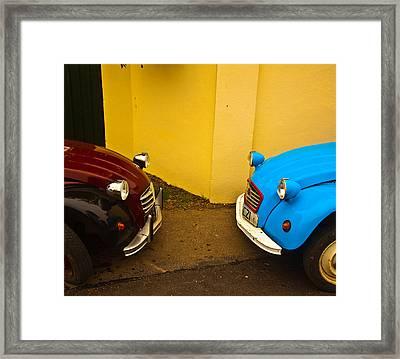 Deux Deux Chevaux Framed Print