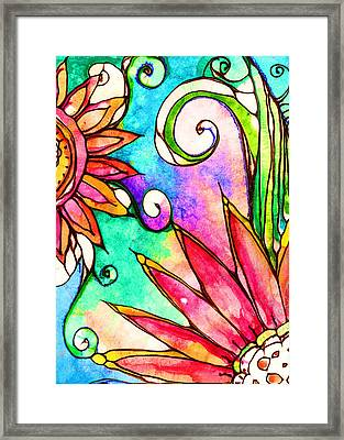 Devine Framed Print by Robin Mead
