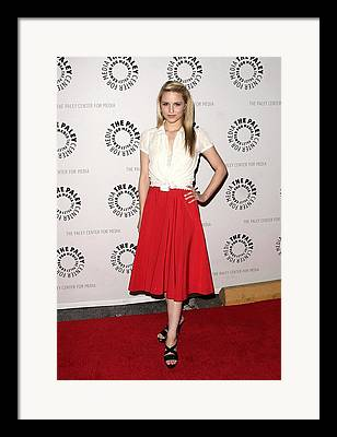 Glee At The 27th Annual Paleyfest William S. Paley Television Festival Framed Prints