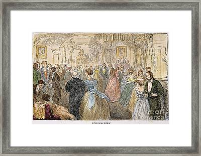 Dickens: Our Mutual Friend Framed Print