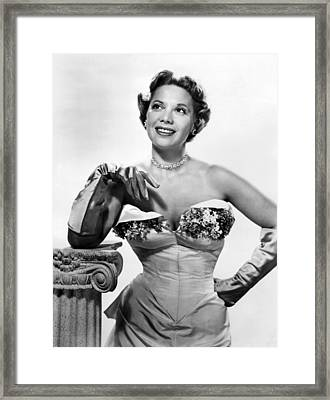 Dinah Shore, Ca. Early 1950s Framed Print by Everett
