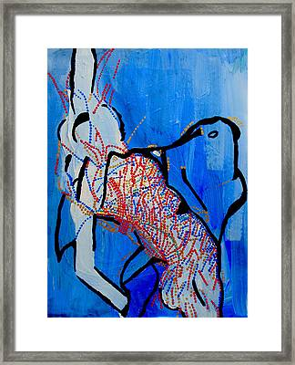 Dinka Corset - Manlual - South Sudan Framed Print