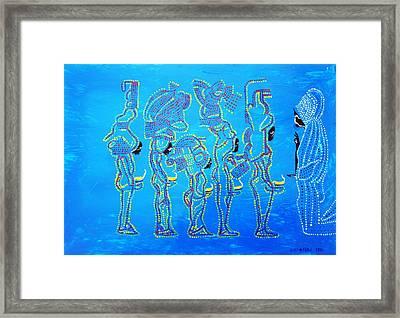 Dinka Wise Virgins  Framed Print