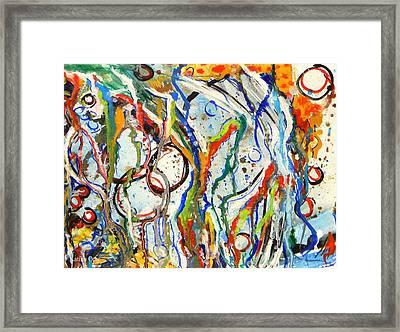 Disturbed Framed Print by Katina Cote