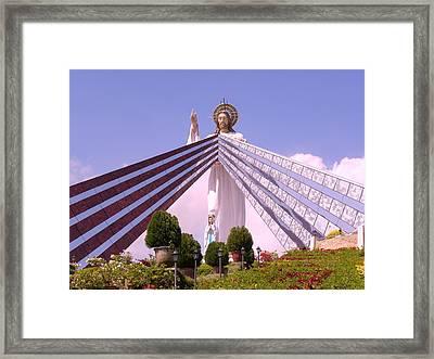 Divine Mercy Framed Print by Anna Baker
