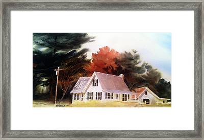 Doc's Place Framed Print by Don F  Bradford