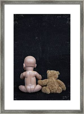 Doll And Bear Framed Print by Joana Kruse