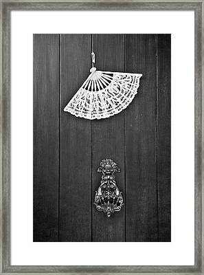 Door Knocker Framed Print by Joana Kruse