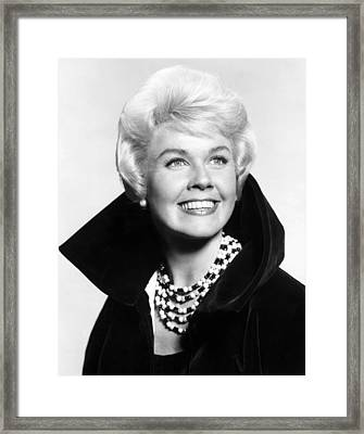 Doris Day, Ca. Early 1960s Framed Print by Everett