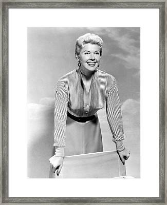 Doris Day, Circa 1950s Framed Print