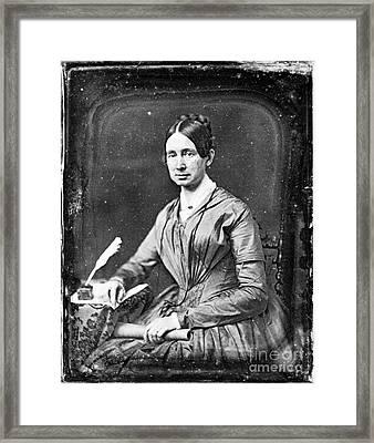 Dorothea Dix (1802-1887) Framed Print by Granger