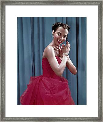 Dorothy Dandridge, 1954 Framed Print by Everett