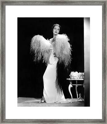 Dorothy Lamour, Paramount Pictures, 1937 Framed Print by Everett