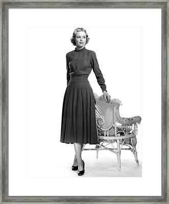 Dorothy Mcguire, 1952 Framed Print