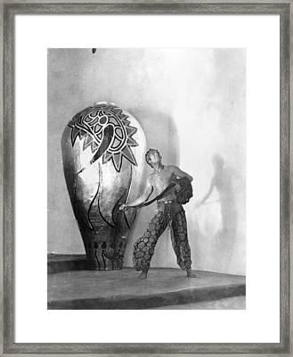 Douglas Fairbanks Framed Print by Granger