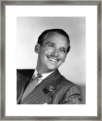 Douglas Fairbanks, Jr., 1947 Framed Print