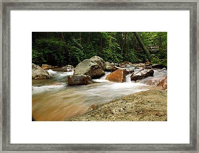 Downstream At The Basin Framed Print by David Gilman