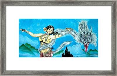 Dragon Dancer Framed Print