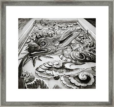 Dragon Framed Print by Shaun Higson