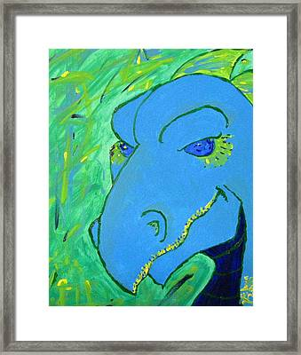 Dragon Framed Print by Yshua The Painter